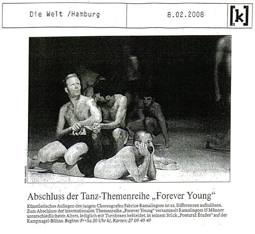 Postural : études – Die Welt – 8 février 2008