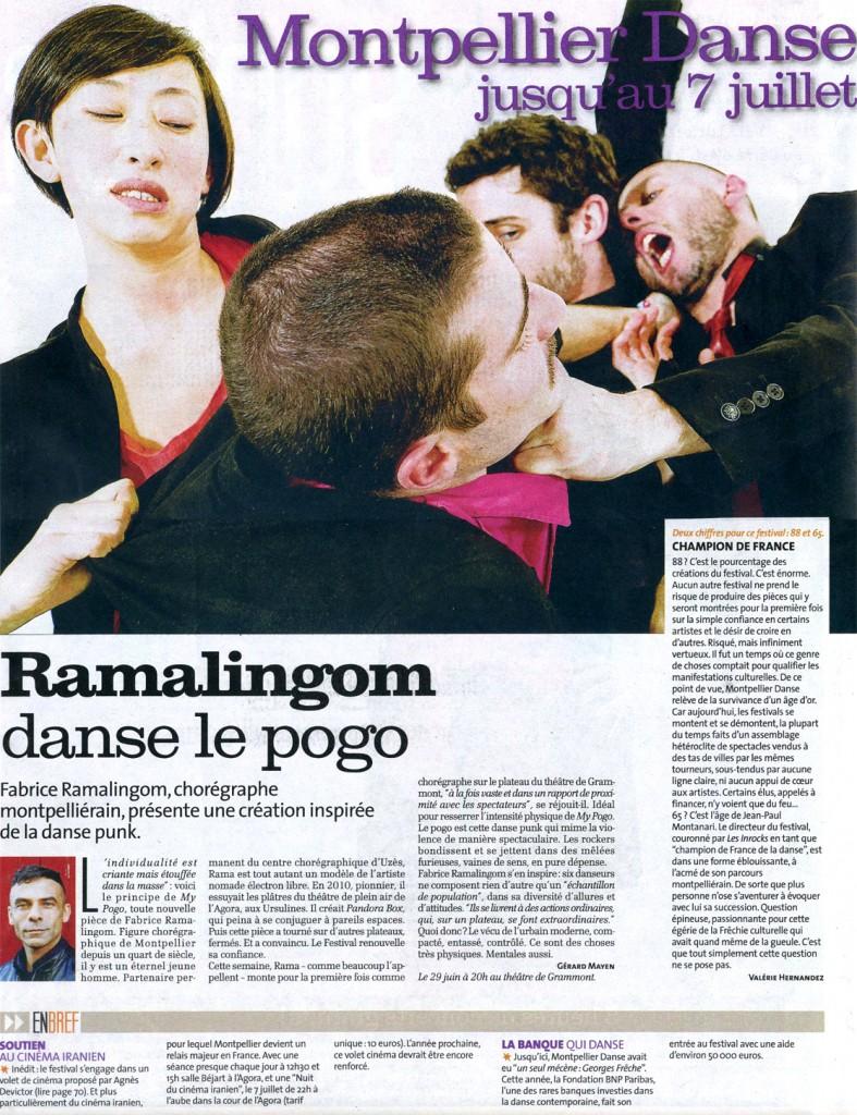 My Pogo – La Gazette – juillet 2012