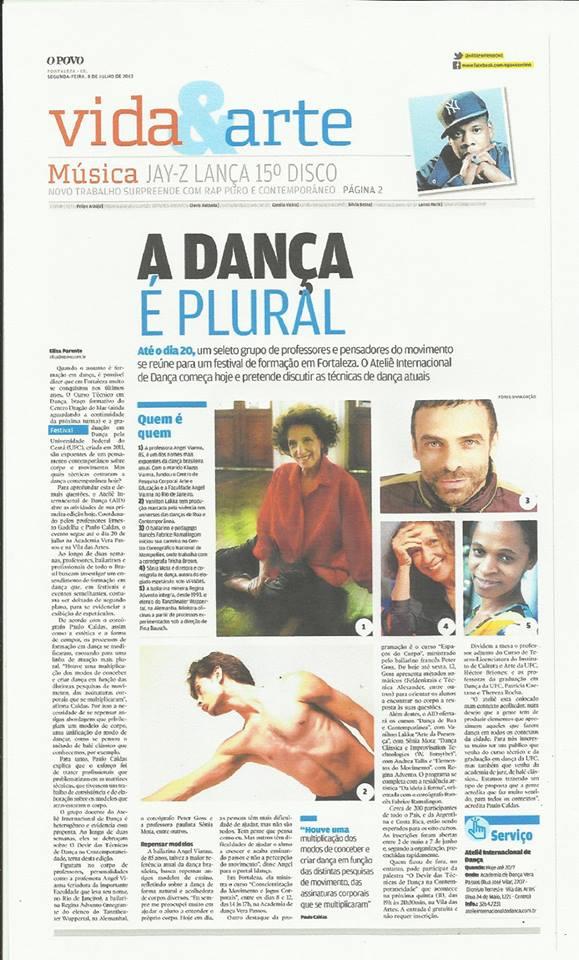 My Pogo – Vida&Arte – 8 juillet 2013